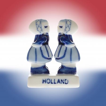 Dutch souvenir as a symbol of Holland, homosexual Stock Photo - 19246149