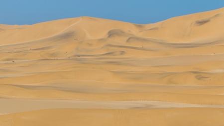 swakopmund: Namib Desert near Swakopmund in Namibia, Africa Stock Photo