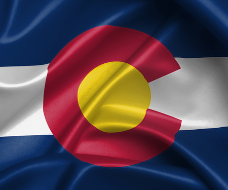 colorado: flag of Colorado