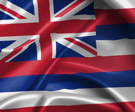 hawaii flag: flag of Hawaii