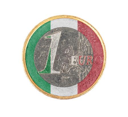 Detail Euro Geld Und Italienische Münze Lizenzfreie Fotos Bilder