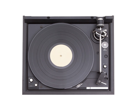 phono: Vintage pick-up, details of an old player