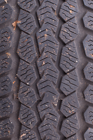 contaminate: Texture of an old tire, dirty and used Stock Photo