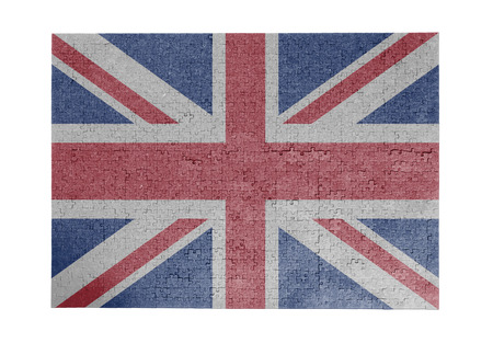 linkages: Large jigsaw puzzle of 1000 pieces United Kingdom flag