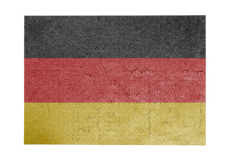 Large jigsaw puzzle of 1000 pieces Germany flag