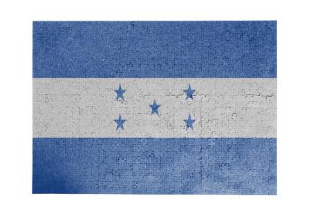 bandera honduras: Gran rompecabezas de 1000 piezas Honduras bandera
