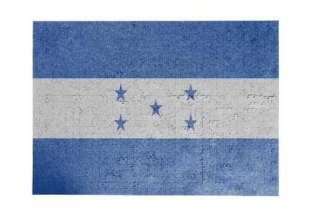 linkages: Large jigsaw puzzle of 1000 pieces Honduras flag