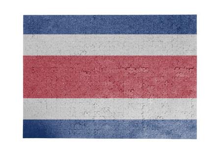 bandera de costa rica: Gran rompecabezas de 1000 piezas bandera Costa Rica