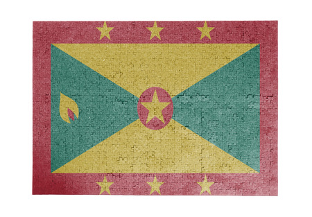 grenada: Large jigsaw puzzle of 1000 pieces Grenada flag