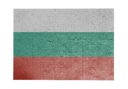 linkages: Large jigsaw puzzle of 1000 pieces Bulgaria flag