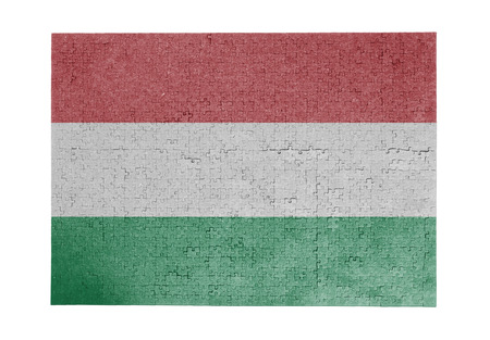 Large jigsaw puzzle of 1000 pieces - flag - Hungary