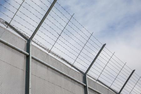 carcel: Valla área alrededor restringida, antigua cárcel en los Países Bajos
