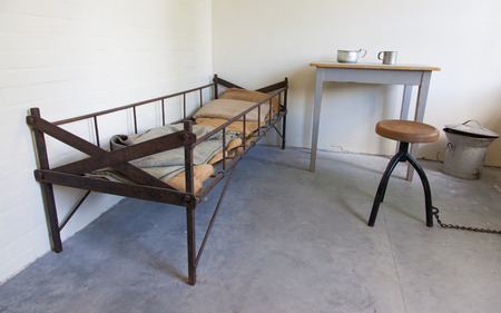 replica: Replica of an dark old dutch jail