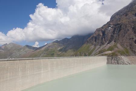 gravedad: Presa Grande Dixence - Mundos más alta presa de gravedad - Suiza