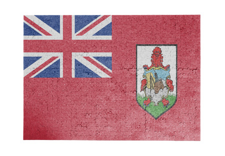 linkages: Large jigsaw puzzle of 1000 pieces - flag of Bermuda