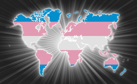 Image result for Trans Pride flag canada map