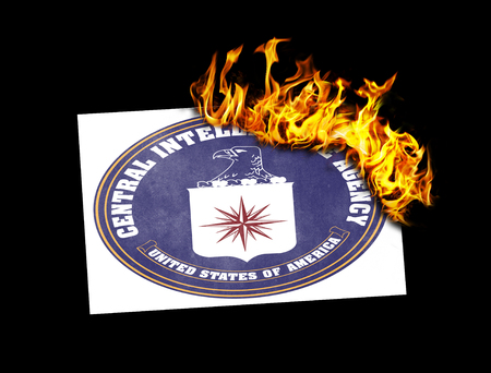 CIA: Flag burning - concept of war or crisis - CIA