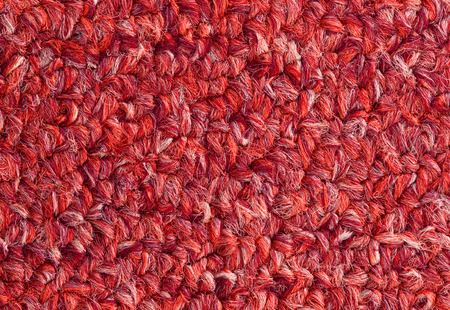 red carpet background: Carpet texture close-up, red furry carpet texture background