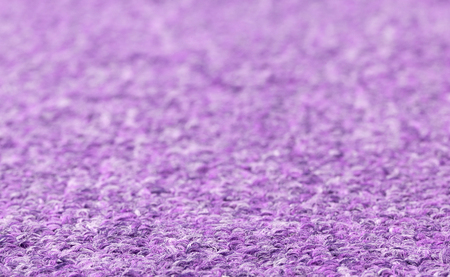 berber: Carpet texture close-up, purple furry carpet texture background, selective focus