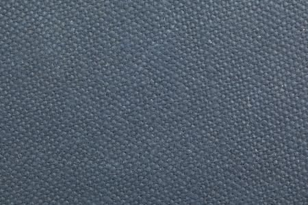 crosshatch: Vintage canvas book cover with a grid pattern, blue Stock Photo