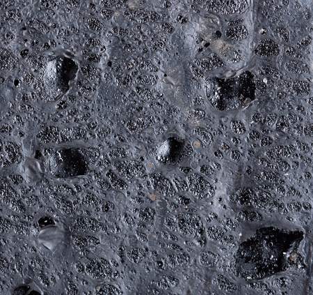 nonslip: Extreme close-up of black rubber mat (background)