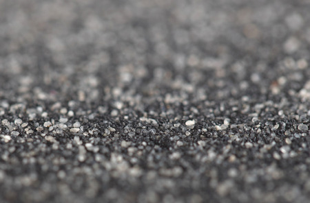 waterproofing material: Asphalt felt texture, for using on a roof or floor, selective focus Stock Photo
