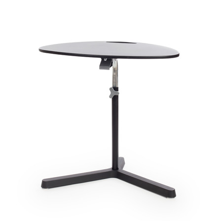 furnish: Modern folding table on a white background Stock Photo