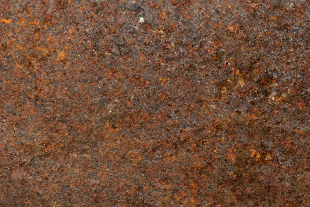 covert: Rust backgrounds - Close-up of old metal covert in rust Stock Photo