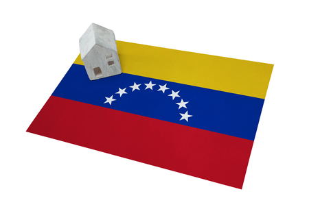 Small house on a flag - Living or migrating to Venezuela