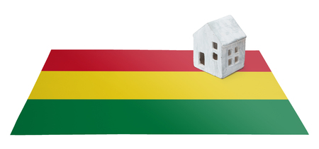 Small house on a flag - Living or migrating to Bolivia