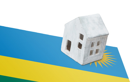 Small house on a flag - Living or migrating to Rwanda