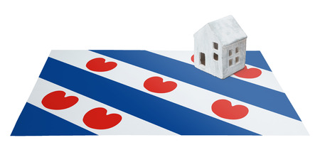 Small house on a flag - Living or migrating to Friesland