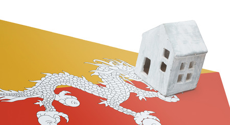 Small house on a flag - Living or migrating to Bhutan