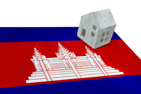 Small house on a flag - Living or migrating to Cambodia