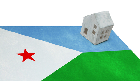 djibouti: Small house on a flag - Living or migrating to Djibouti