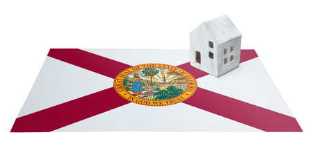investment real state: Small house on a flag - Living or migrating to Florida