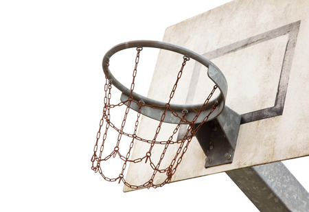 Basketball court in an old jail, the Netherlands Stock Photo