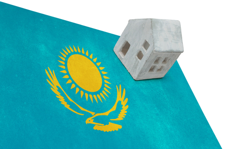 Small house on a flag - Living or migrating to Kazakhstan