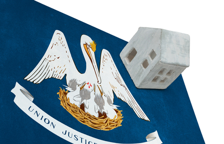 investment real state: Small house on a flag - Living or migrating to Louisiana