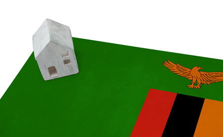 Small house on a flag - Living or migrating to Zambia