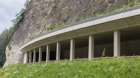 Alpine pathway in southern Austria - Nauders, Tirol