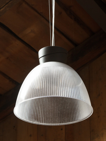 Simple light hanging on the ceiling - House in Austria