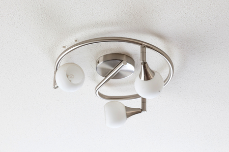 Down-light ceiling, typical home interior lighting
