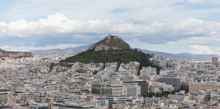 Panoramic view of Athens from the Acropolis