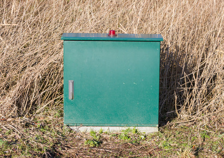 Metal box for powersupply in the Netherlands
