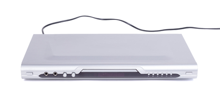 DVD player isolated on a white background