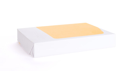 Print paper isolated on a white background 版權商用圖片