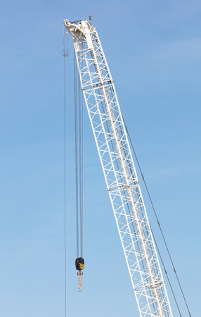 Large crane at a construction side, London