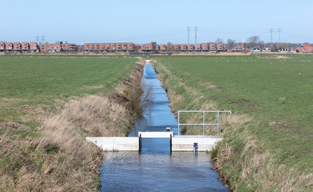 Water management in the Netherlands, regulating the height