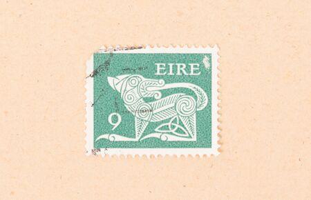 IRELAND - CIRCA 1980: A stamp printed in Ireland shows an animal, circa 1980